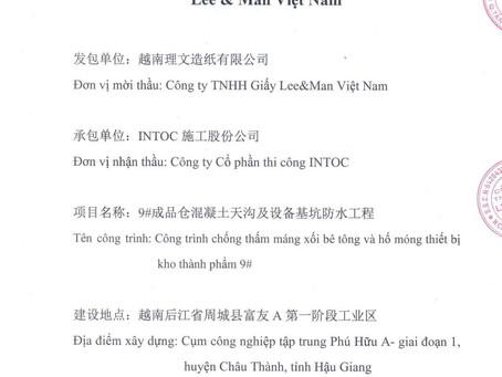 INTOC CHINH PHỤC ĐƯỢC CHỦ ĐẦU TƯ TRUNG QUỐC!
