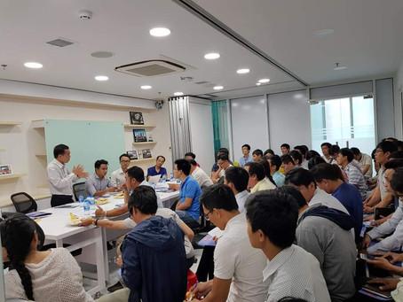 Báo cáo tại Cty Xây dựng Nguyễn Hoàng