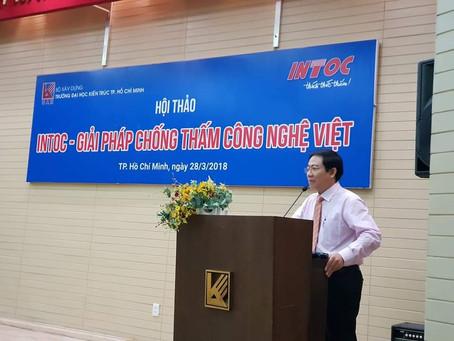 Hội thảo tại ĐH KIẾN TRÚC TP.HCM - 28.3.2018: