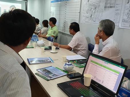 Báo cáo tại dự án bệnh viện tỉnh Tiền Giang