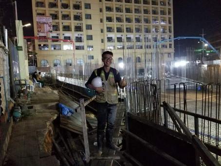 INTOC tại công trình ở Campuchia