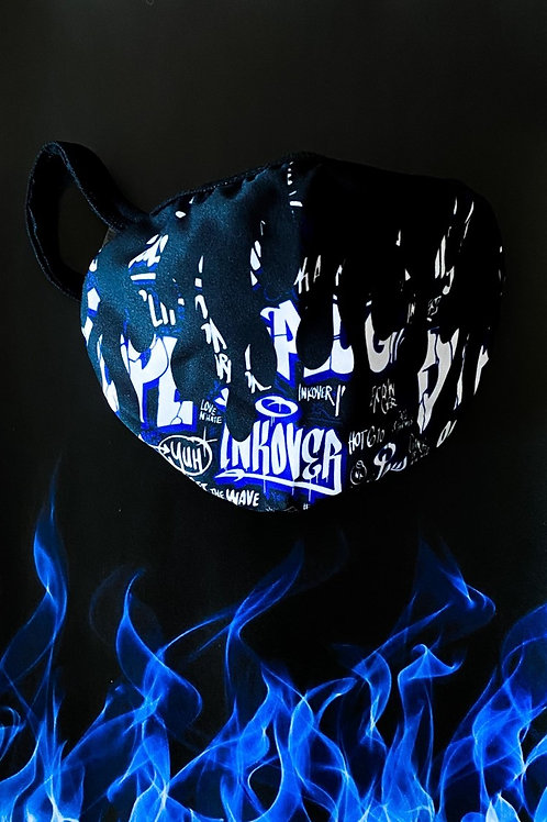 INK FLAME MASK