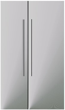 Double Sided Door Fridge Prop