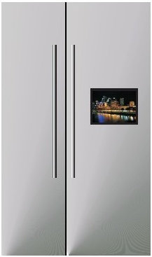 Fridge Prop With LED Screen