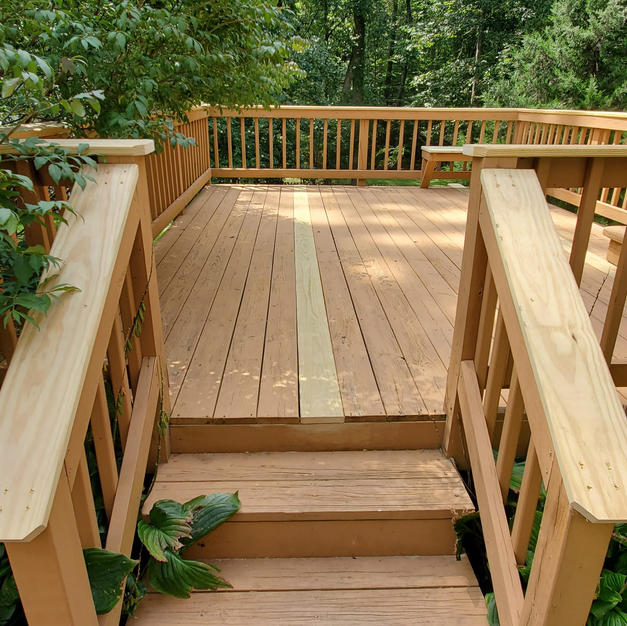 Deck plank replacement
