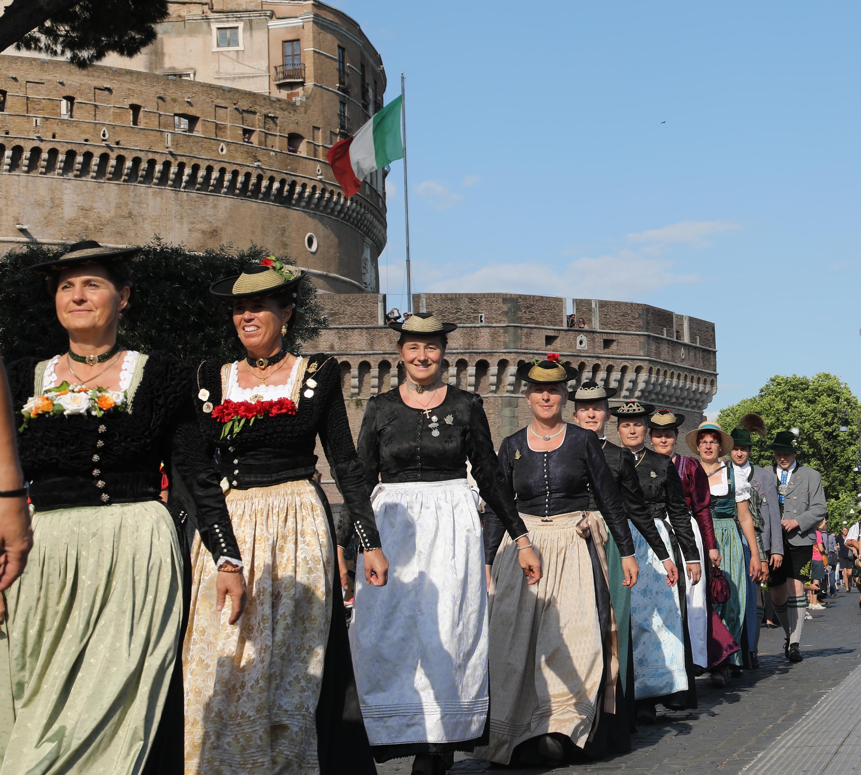 09. Granda Parata zu Ehren der Patrona Bavaria