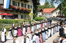 Festverein Bad Heilbrunn beim Festzug