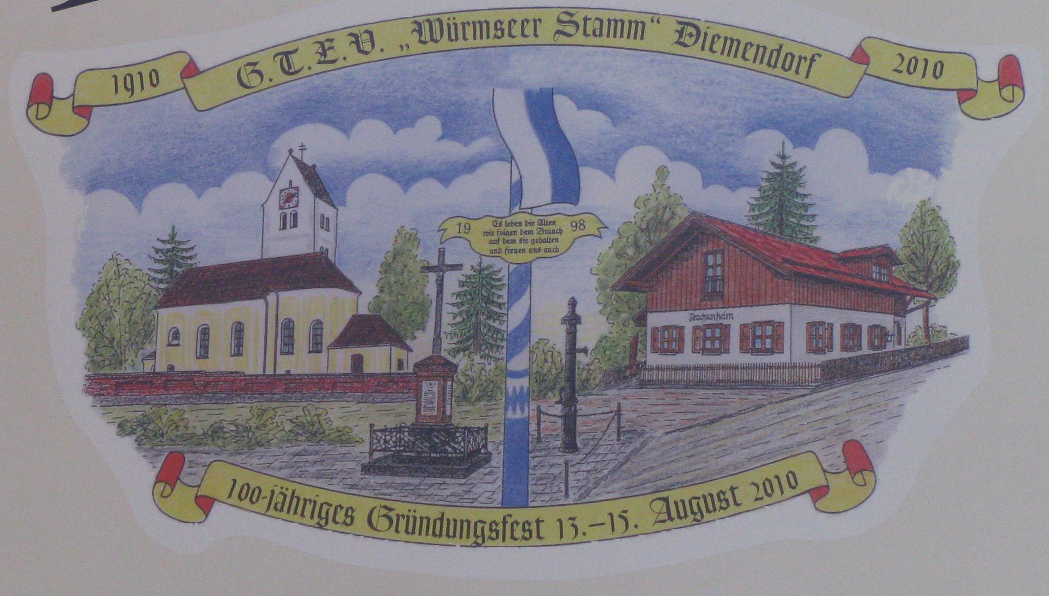 """G.T.E.V. """"Würmseer Stamm"""" Diemendorf"""