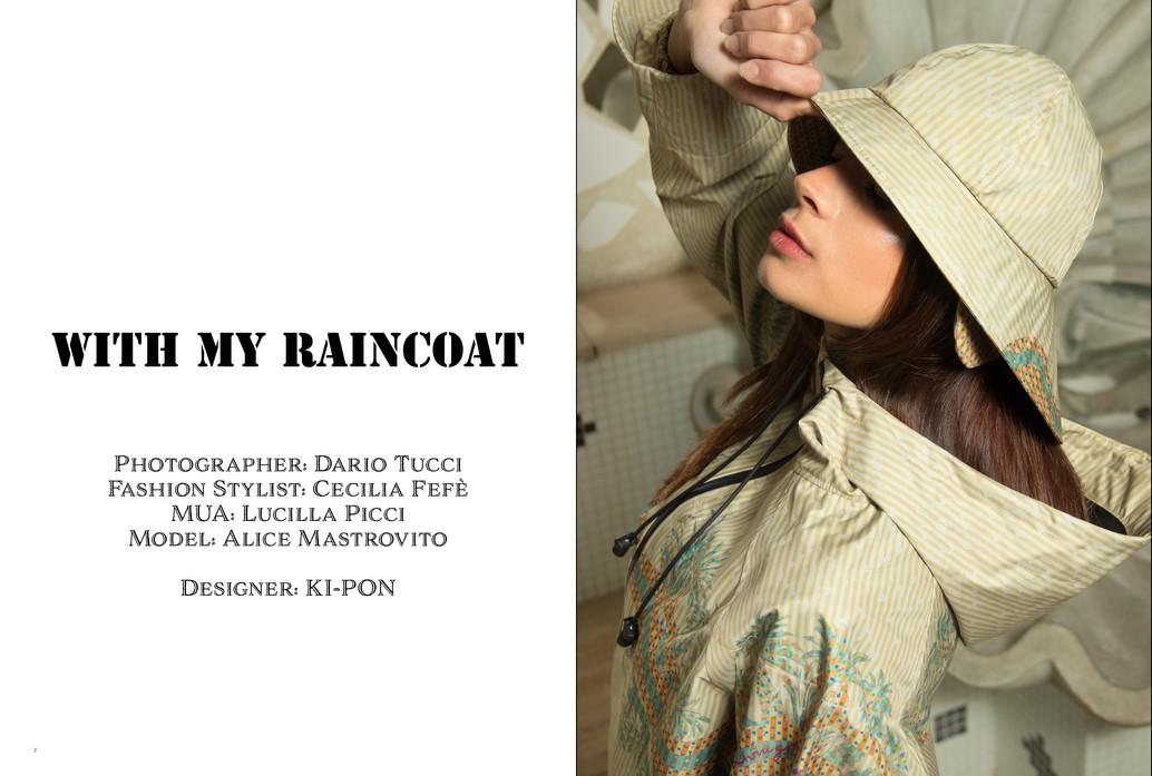 With My Raincoat