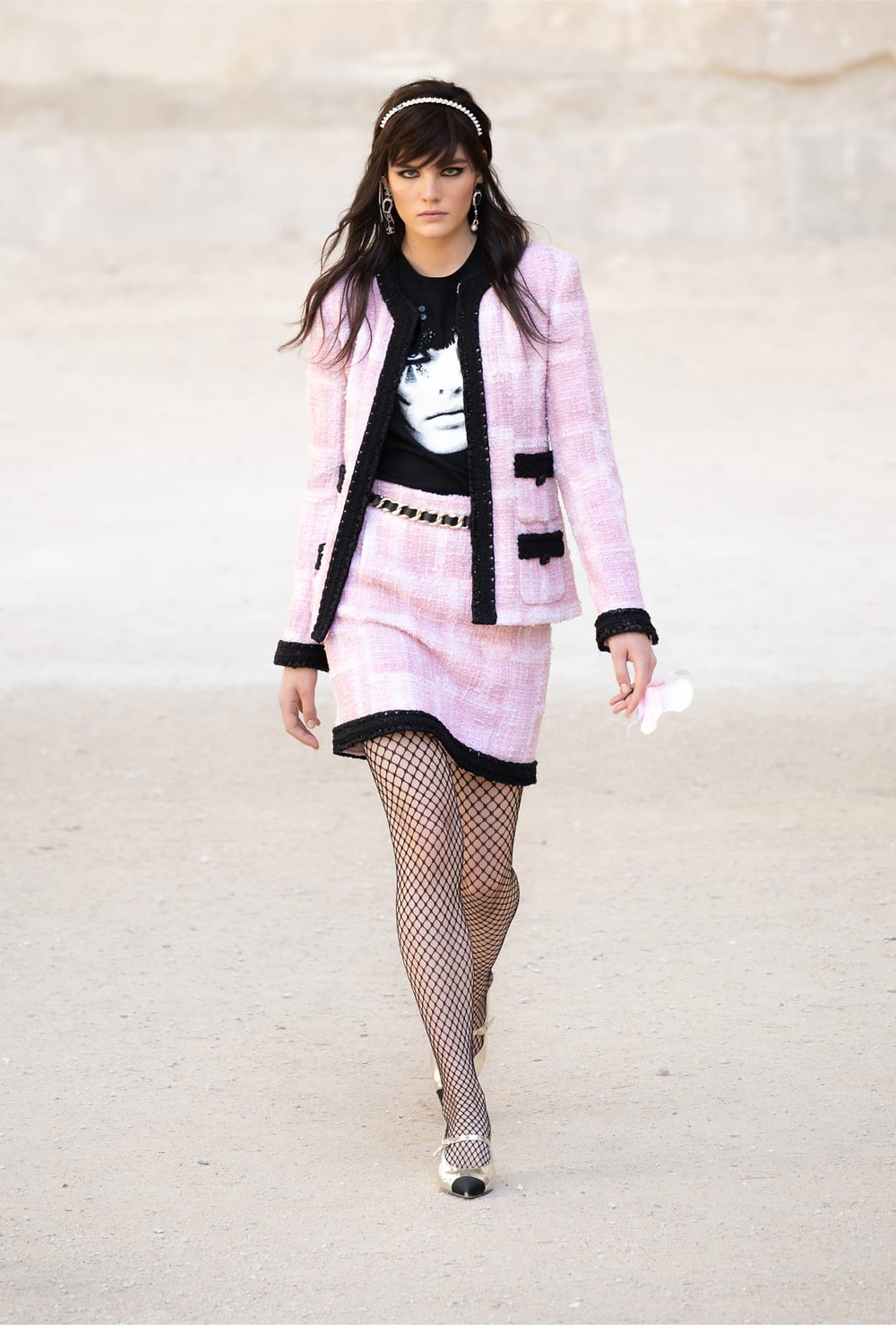 Chanel Channels Woodstock In The Cruise 2022 Collection