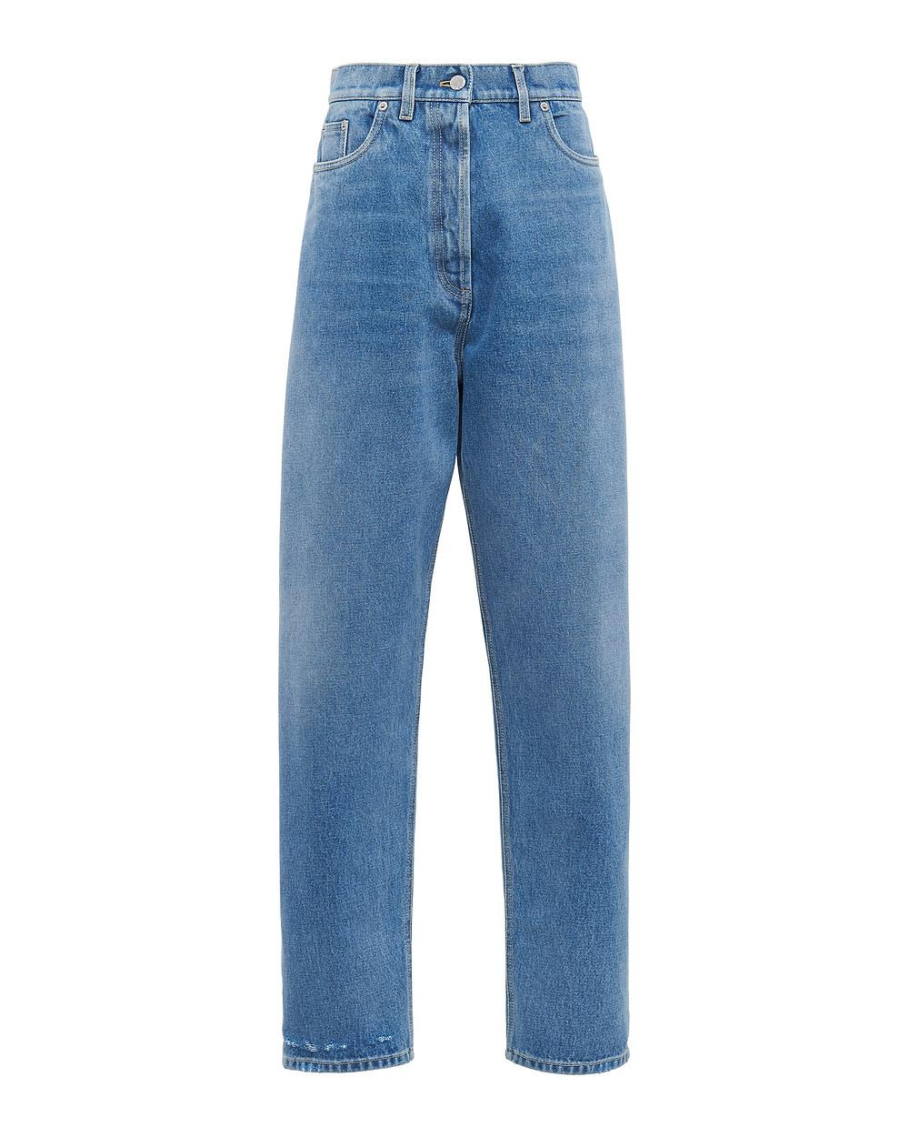 Prada organic denim five-pocket jeans