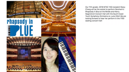 Stacy Chang plays Gershwin