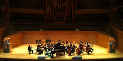 Phoebe Pan at Disney Hall