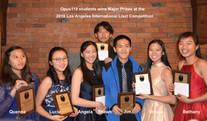 Liszt Competition Winners