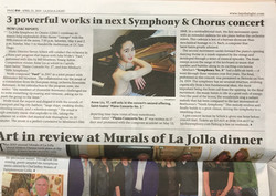Anne Liu plays with La Jolla Symphony