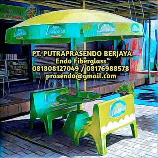 Jual Payung Parasol Fiberglass Murah di Jakarta