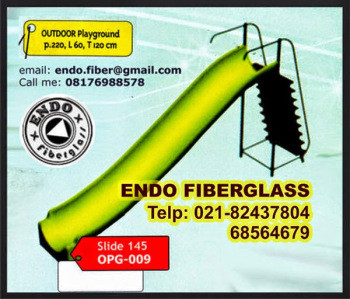 Jual Playground perosotan single type Slide OPG-009