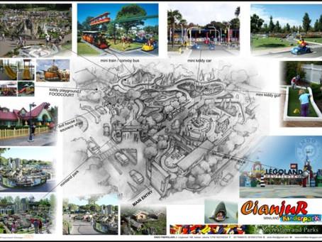 Kiddy Park Cianjur, Concept Design