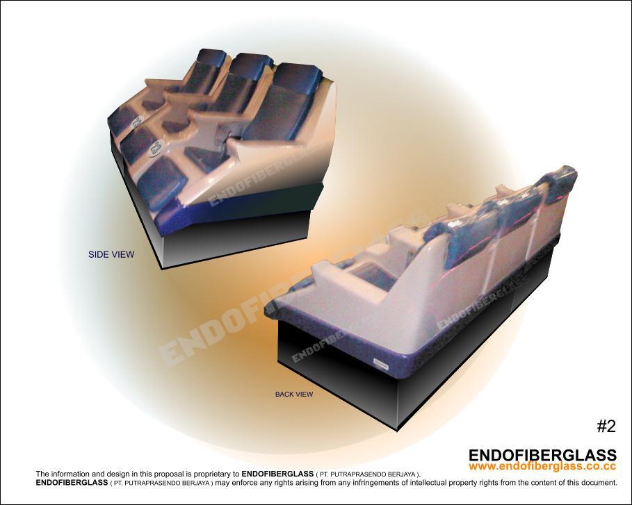 Jual Bangku Fiberglass 4D