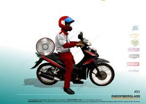 Box Delivery Motor Fiberglass Jakarta