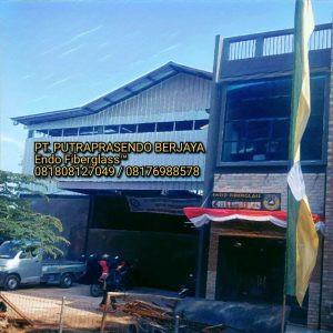 Workshop dan Kantor Endo Fiberglass