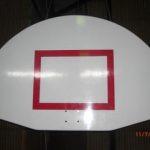 papan basket setengah lingkaran