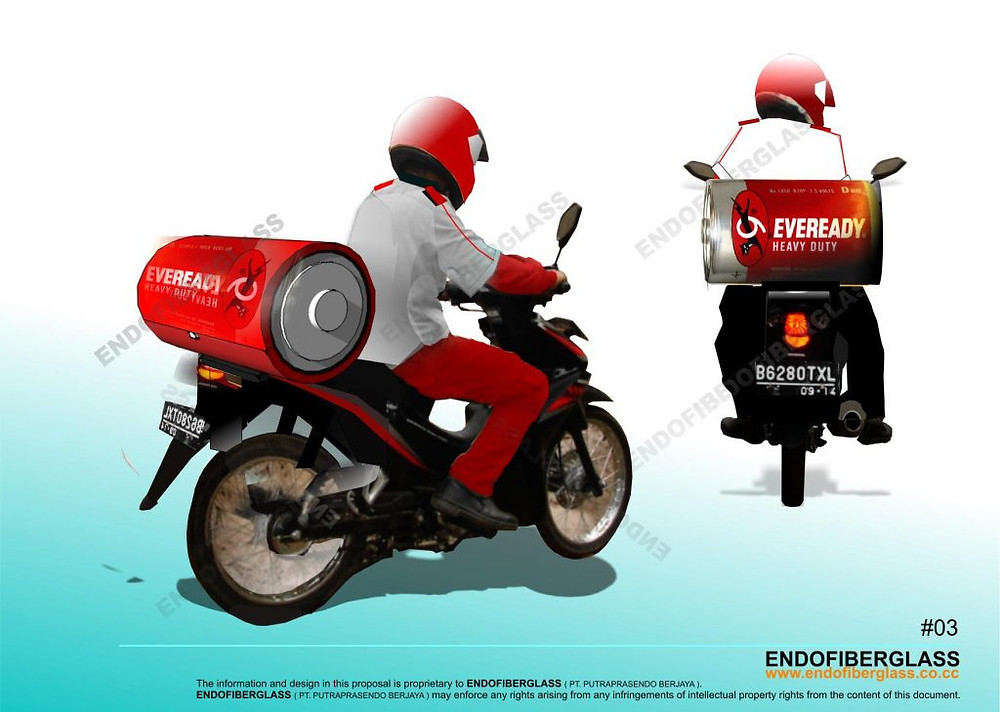 Box Delivery Motor Fiberglass Bekasi