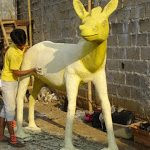 Jasa Bikin Patung Binatang Fiberglass
