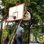 papan basket fiberglass