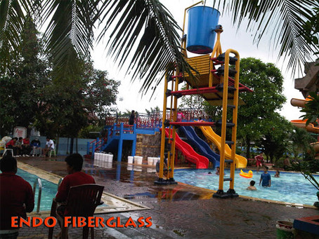 Ember Tumpah Waterpark daya tarik anak-anak