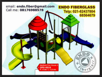 Jual Playground Outdoor taman bermain anak type OPG-0019