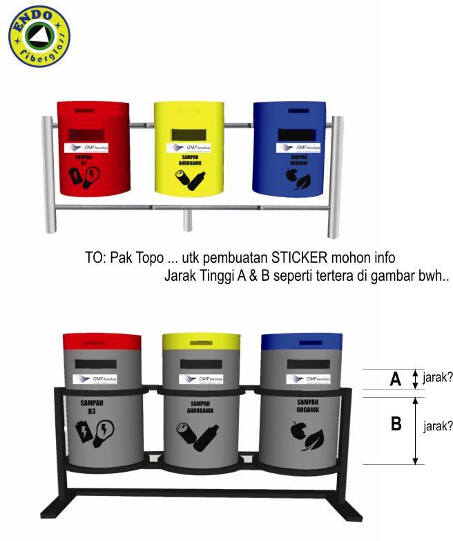 Tong Sampah Fiberglass Murah Jakarta 3