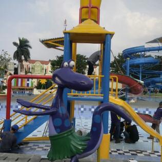 Produksi Ember Tumpah Waterpark