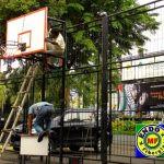 jual papan basket fiberglass murah