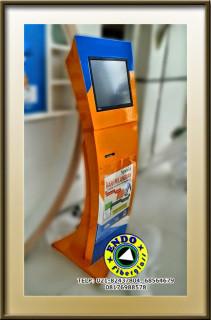 Terima order pembuatan Casing Standing Kiosk Touch Screen