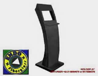 Pembuatan KiosK Touch Screen Fiberglass