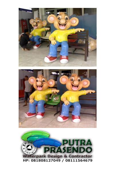 Patung maskot-coco-crunch-2