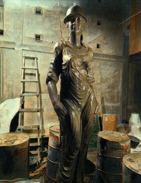 Jasa Pembuat Patung Fiberglass