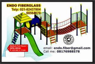 Jual Playground indoor dan outdoor untuk taman bermain type OPG-0016