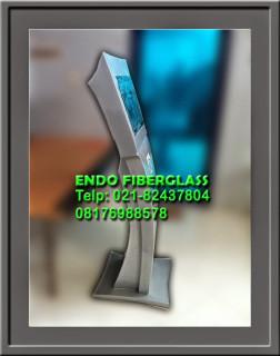 Casing Kiosk Touch Screen bahan Fiberglass dengan harga murah