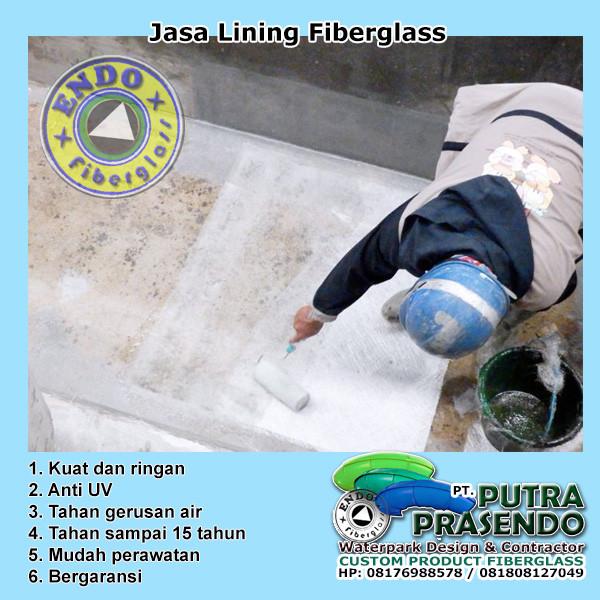 Jasa lining fiberglass bogor