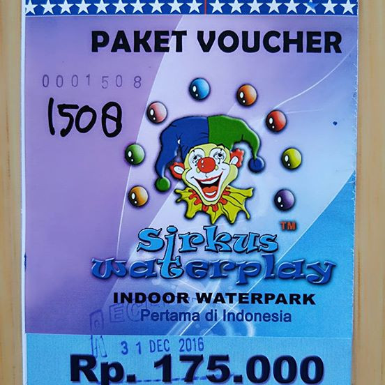 Tiket Hemat Sirkus Waterplay