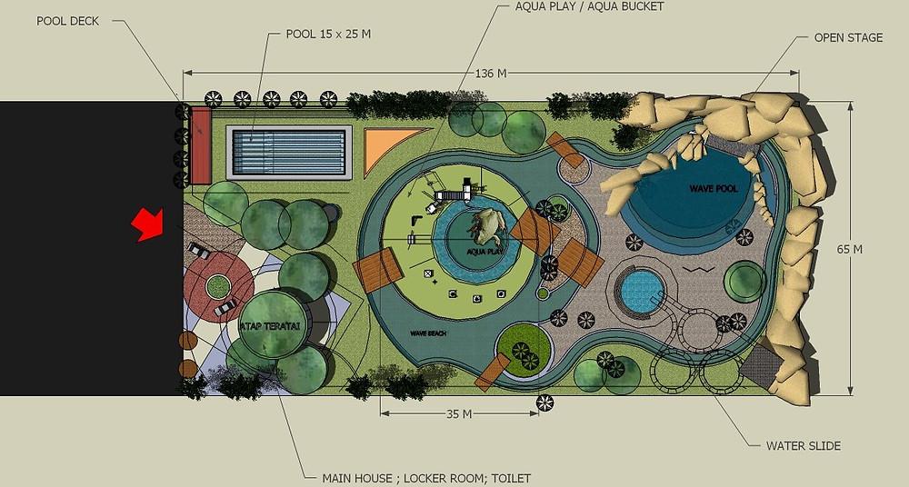Jasa Desain Waterboom Murah 2