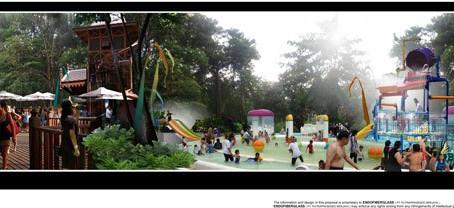 WATERPARK MAROS, Sulawesi Selatan dengan Green Konsep Wisata