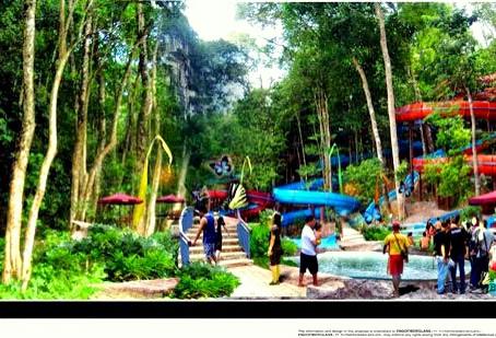 Jasa perencanaan waterboom dan waterpark