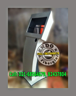 Casing Kiosk Touch Screen Fiberglass