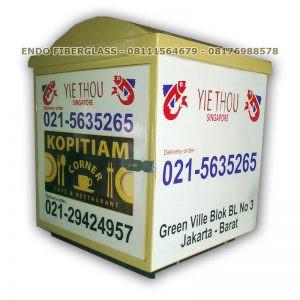 Jual Delivery Box Motor Murah Restoran Kopitiam