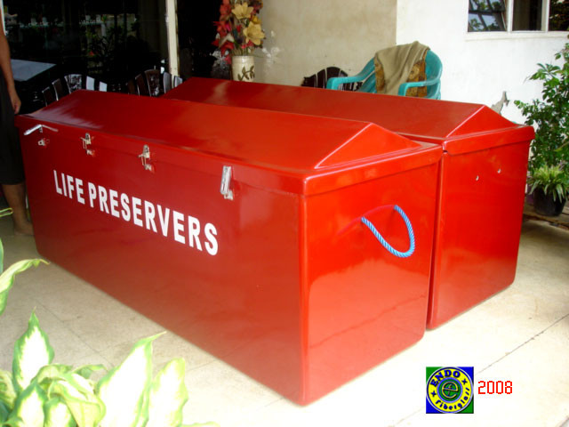 Harga Life Jacket Box Fiberglass