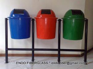 Tong Sampah Fiberglass Bulat 3in1
