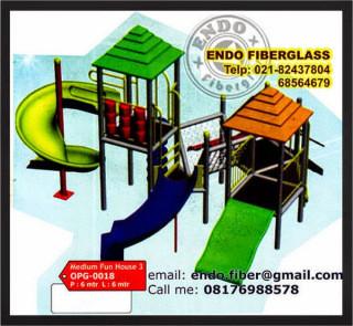 Jual Playground Outdoor taman bermain anak type OPG-0018